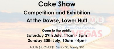 Wellington Cake Show