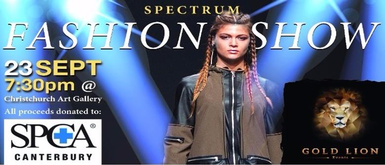 Spectrum Fashion Show for The Canterbury SPCA