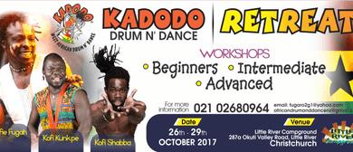 Kadodo West African Drum and <em>Dance</em> Retreat