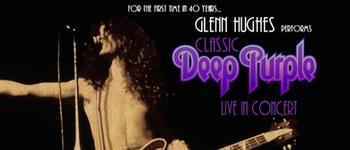 Glenn Hughes performs Classic Deep Purple