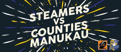 Bay of Plenty Steamers vs Counties Manukau Steelers