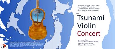 Tsunami Violin Concert