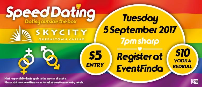 SKYCITY Queenstown Gay Speed Dating