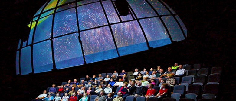 Planetarium Show and Cinema: SOLD OUT