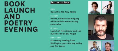 Off the Page - Book Launch and Poetry Evening