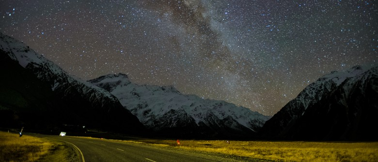 Stargazing At Mt Cook Observatory at Mt Cook Airport