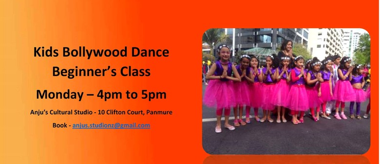 Kid's Bollywood Dance Beginner's Class With Anju