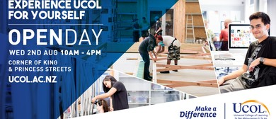 UCOL Open Day 2017