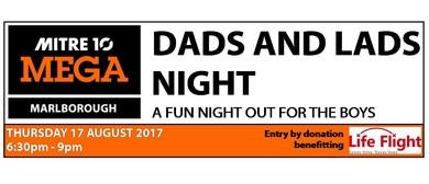 Dad's & Lad's Night