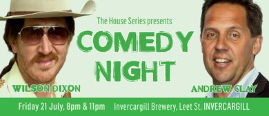 Comedy Night with Wilson Dixon & Andrew Clay