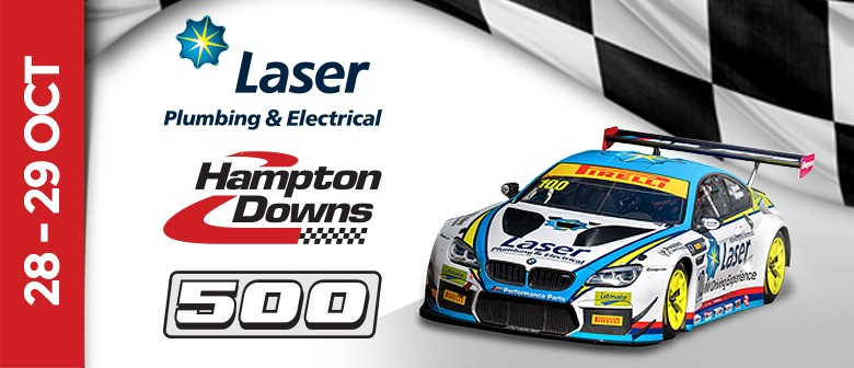 Laser Plumbing & Electrical Hampton Downs 500