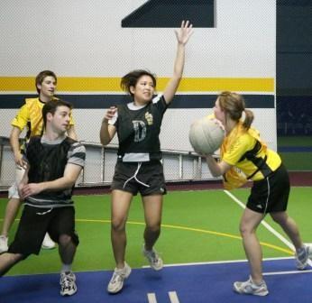 Indoor netball tauranga