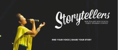 Storytellers High School Public Speaking Contest