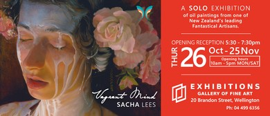 Sacha Lees Solo Exhibition - Opening Reception