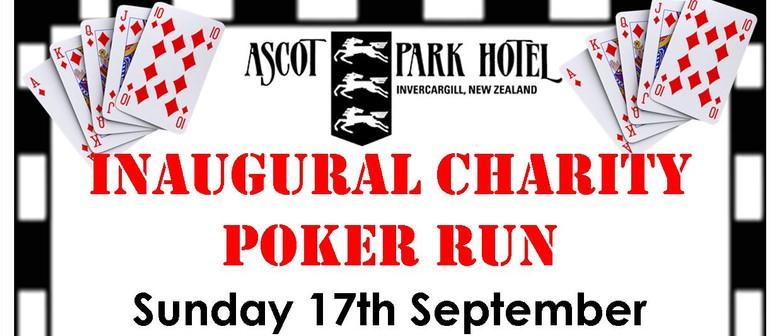 Inaugural Charity Poker Run