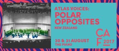 Christchurch Arts Fest 2017 - Atlas Voices: Polar Opposites