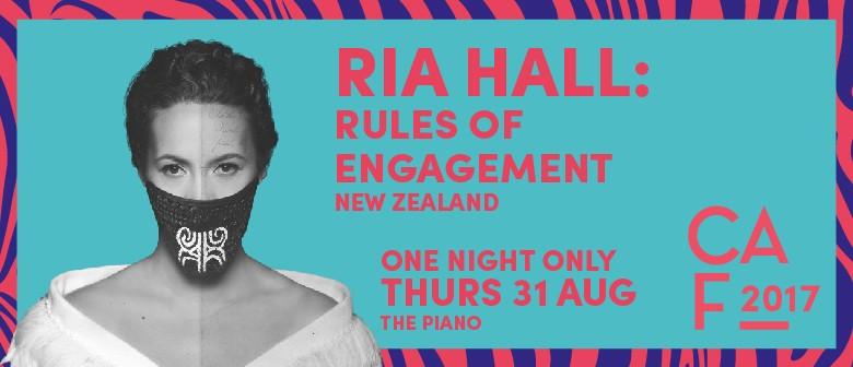 Christchurch Arts Festival 2017 - Ria Hall