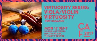 Christchurch Arts Festival 2017 - Viola/Violin Virtuoso
