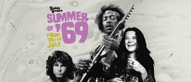Strange Behaviour Summer of 69 Woodstock Party