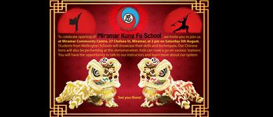 Miramar Kung Fu School Opening Demo