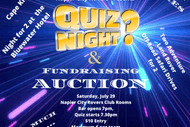 Napier City Rovers Quiz and Fundraising Auction Night