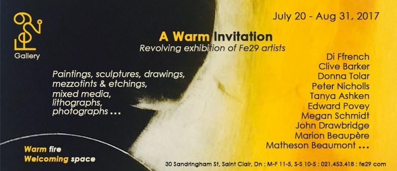 A warm invitation revolving exhibition of fe29 artists dunedin a warm invitation revolving exhibition of fe29 artists dunedin eventfinda stopboris Choice Image