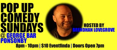 Pop Up Comedy Sundays at George Bar