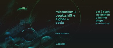 Micronism + Peak:Shift + Signer + Coda