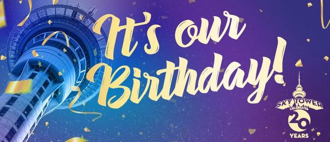 Sky Tower's Birthday