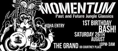 Momentum - 1st Birthday Bash!