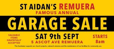 St Aidan's Famous Annual Garage Sale