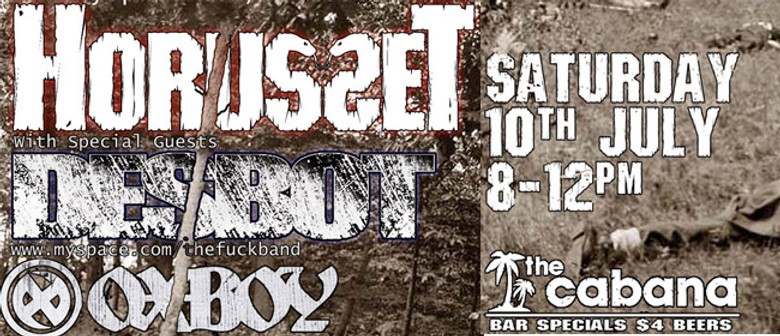 Horusset with Guests Desbot & Oxboy