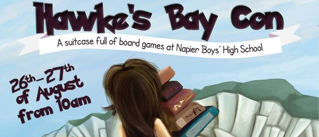 Hawke's Bay Con - A Suitcase Full of Board Games