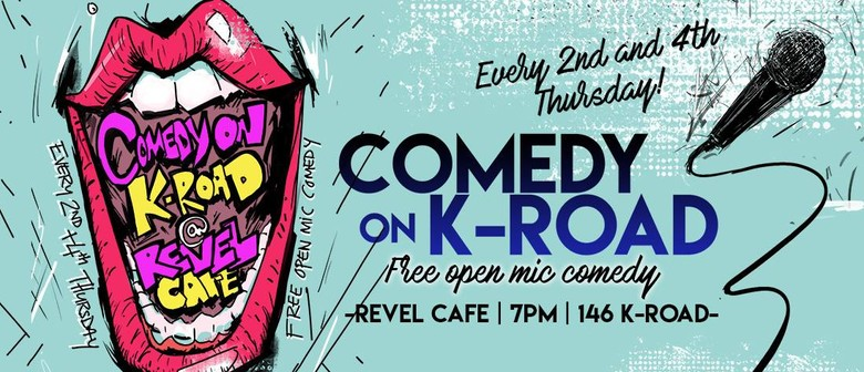 Comedy on K-Road: Open Mic Comedy