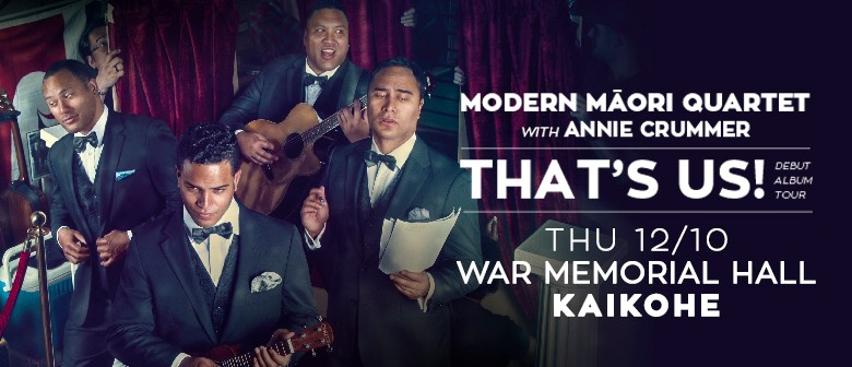 Modern Maori Quartet with Annie Crummer: CANCELLED