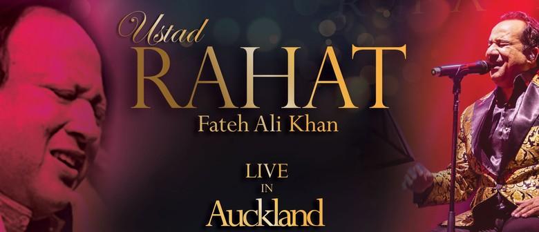 Ustad Rahat Fateh Ali Khan: SOLD OUT