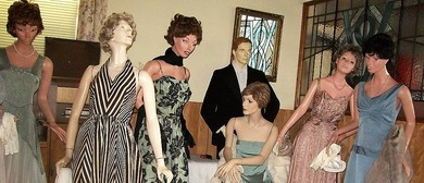Display of Original 1950's and 60's Evening Gowns