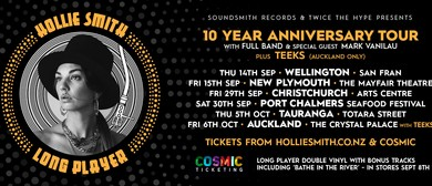 Hollie Smith - Long Player 10th Anniversary Tour