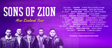 Sons of Zion – EP Release Tour