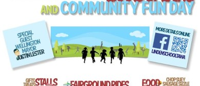 Linden School Fit Track Opening and Fun Community Day