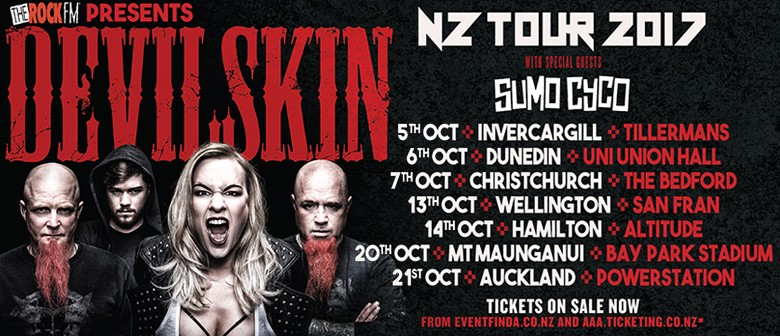 Devilskin NZ Tour 2017