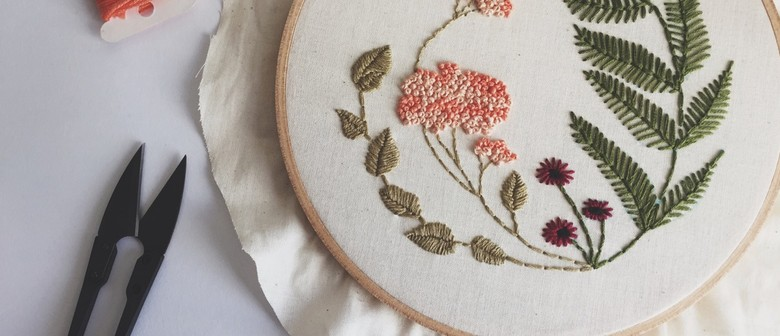 Introduction to Floral Embroidery