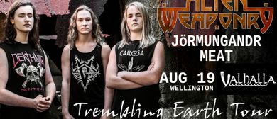 Alien Weaponry - Trembling Earth Tour