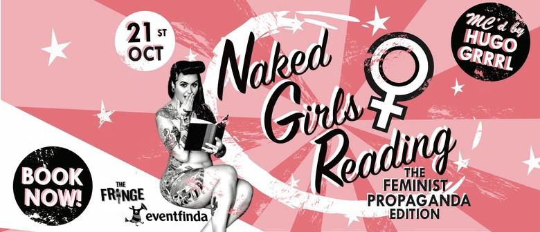 Naked Girls Reading: The Feminist Propaganda Edition: CANCELLED