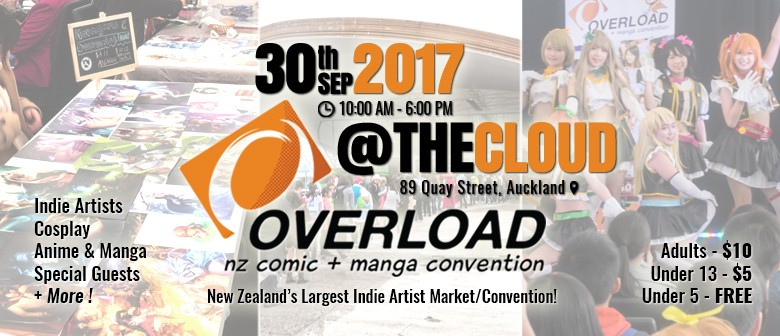 Overload 2017 - NZ Comic and Manga Convention