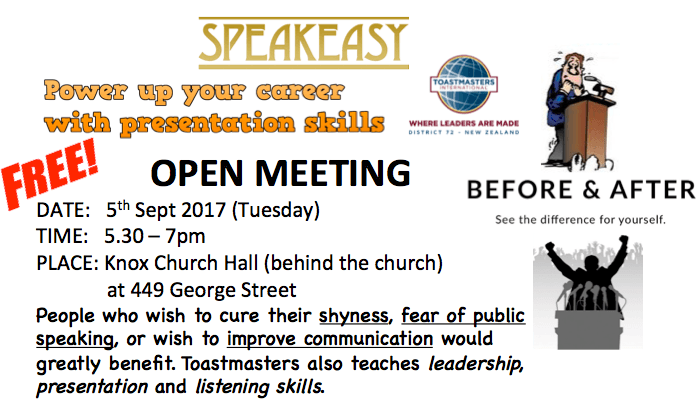 speakeasy toastmasters open meeting