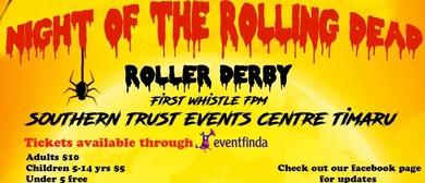 Timaru Roller Derby - Night of The Rolling Dead