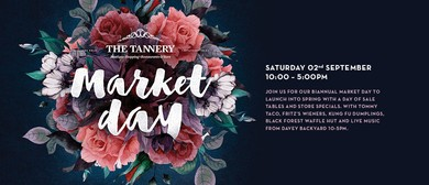 The Tannery Spring Market Day