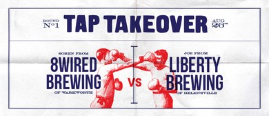 Tap Takeover: 8 Wired Brewing & Liberty Brewing Company