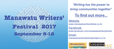 Manawatu Writers' Festival - Writing on the Edge (That Show!